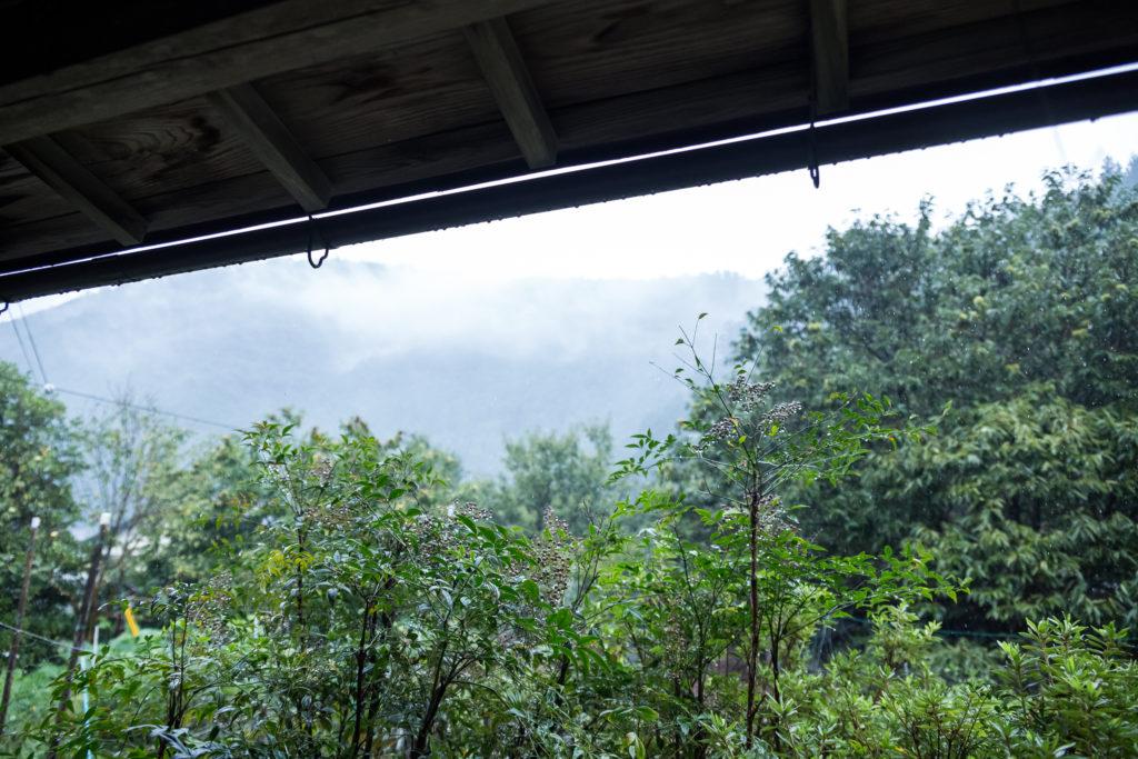 中峰さん宅からの眺め